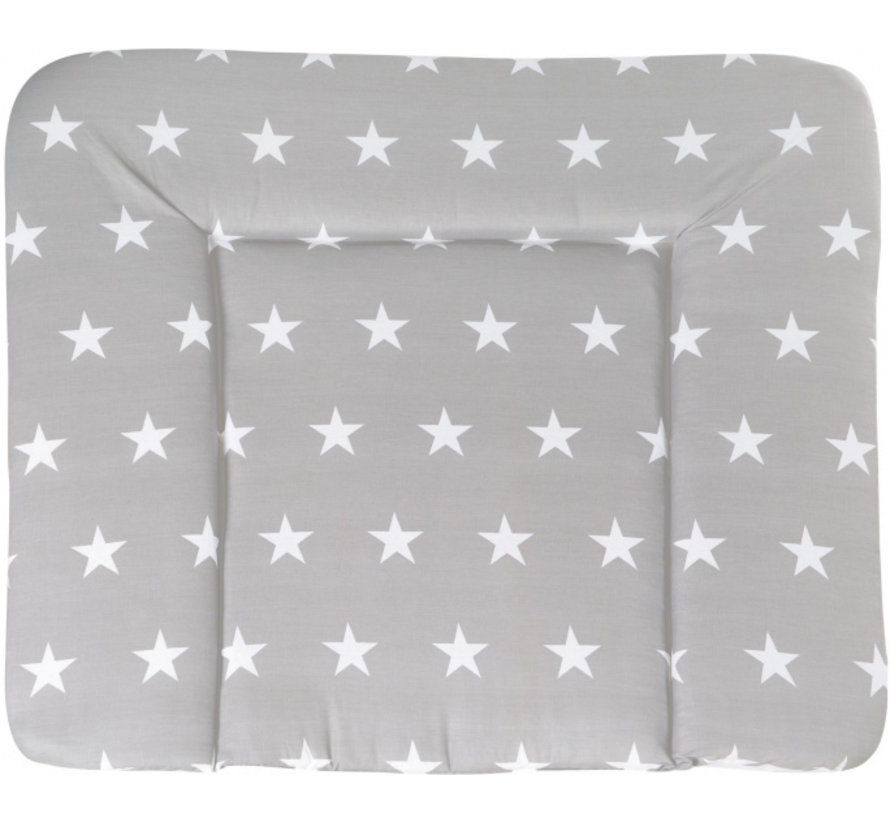 aankleedkussen Little Stars 85 x 75 cm grijs
