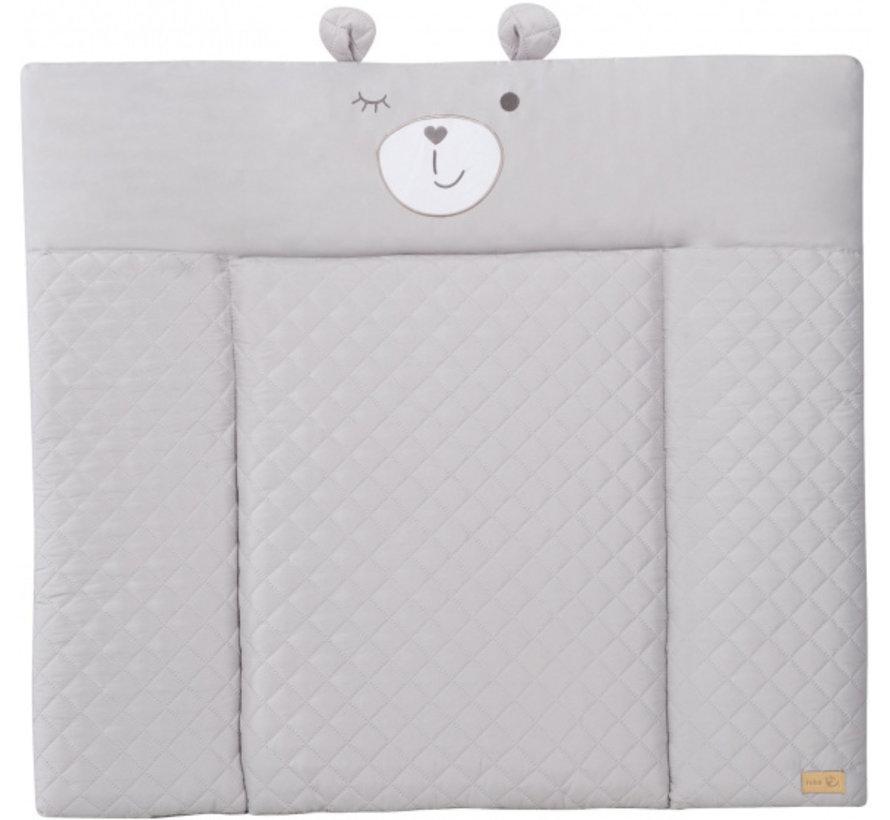 aankleedkussen Sammy junior 85 x 75 cm polyester grijs