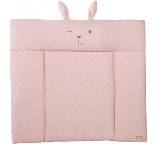 Roba aankleedkussen Lily meisjes 85 x 75 cm polyester roze
