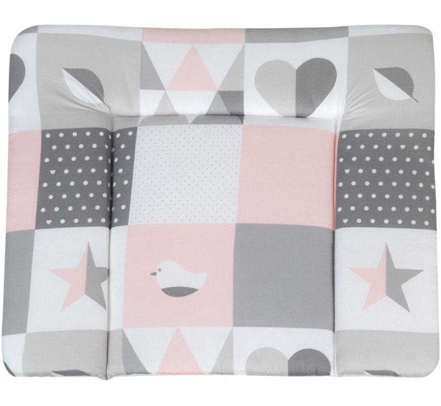 aankleedkussen Happy Patch 85 x 75 cm polyester/katoen