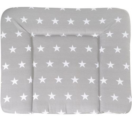 Roba aankleedkussen Little Stars 85 x 75 cm polyester grijs