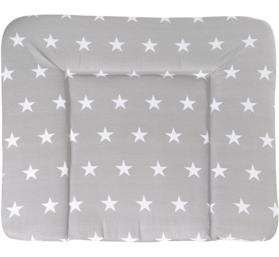 aankleedkussen Little Stars 85 x 75 cm polyester grijs