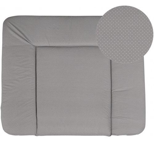 Roba aankleedkussen Dotty 85 x 75 cm polyester/katoen grijs