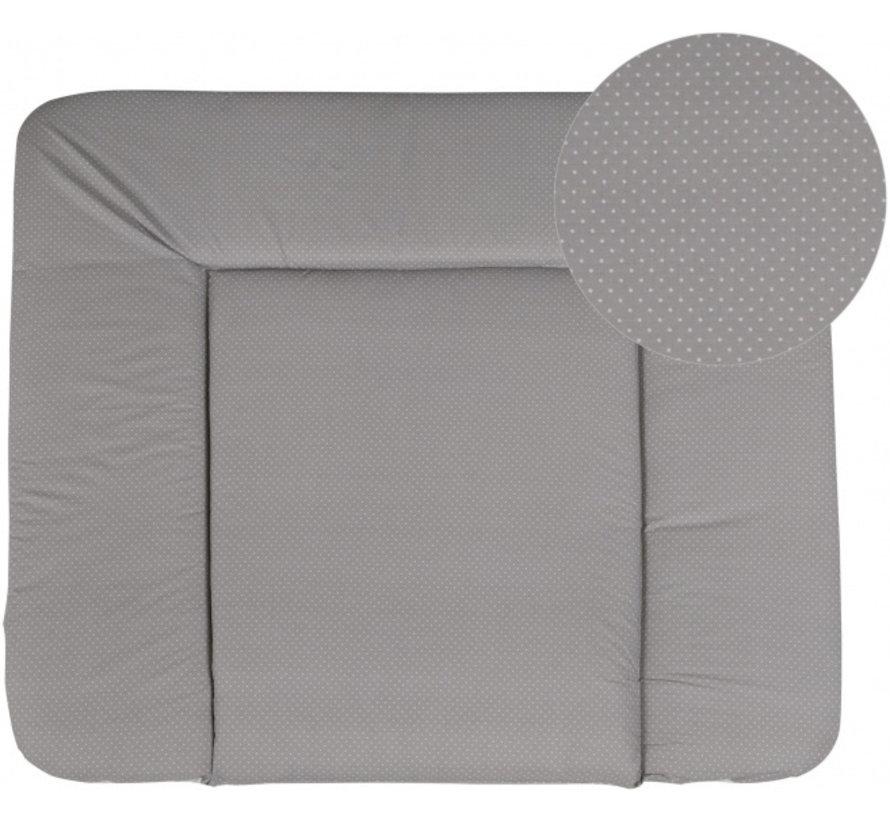 aankleedkussen Dotty 85 x 75 cm polyester/katoen grijs