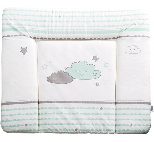 Roba aankleedkussen Happy Cloud 85 x 75 cm polyester/katoen