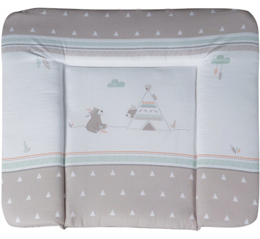 aankleedkussen Indibear 85 x 75 cm polyester/katoen