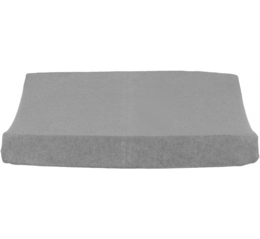 aankleedkussenhoes 50 x 65 cm katoen grijs