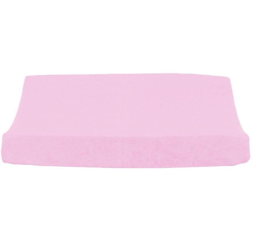 aankleedkussenhoes 50 x 65 cm katoen roze