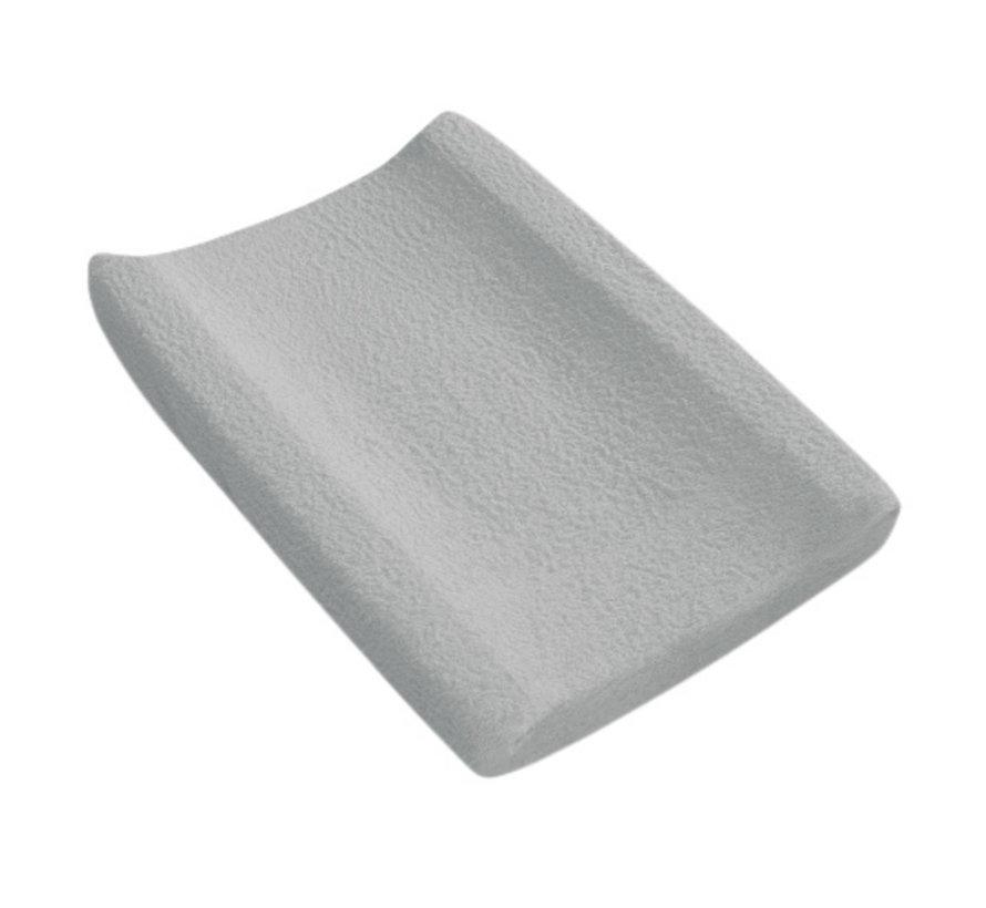 aankleedkussenhoes 55 x 80 cm katoen grijs