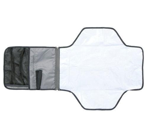 Littlelife aankleedkussen baby draagbaar 92 cm polyester grijs