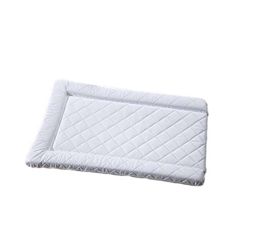 aankleedkussen gewatteerd wit 74 cm
