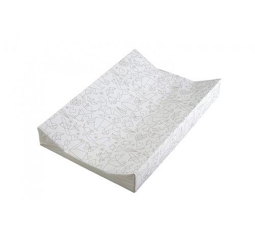 East Coast aankleedkussen origami wit 69 cm