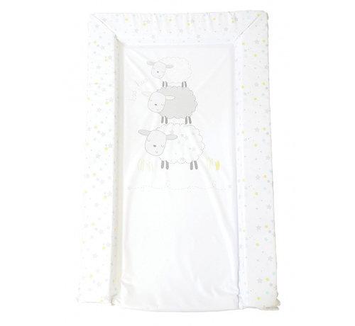 East Coast aankleedkussen schaap wit 75 cm