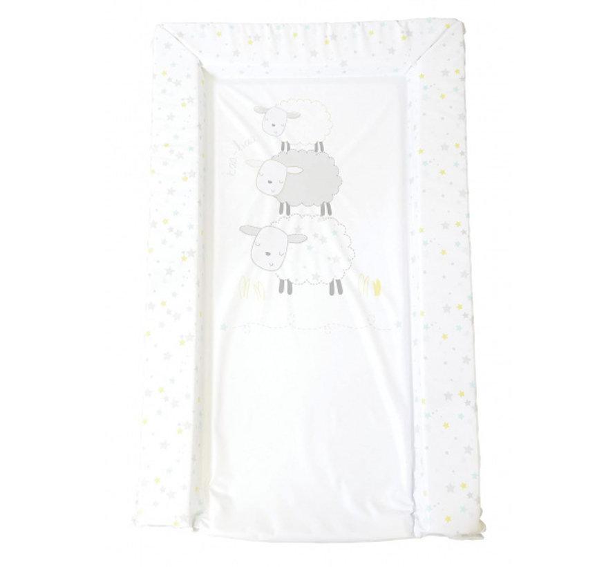 aankleedkussen schaap wit 75 cm