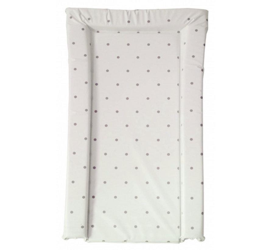 aankleedkussen stippen grijs/taupe 72 cm