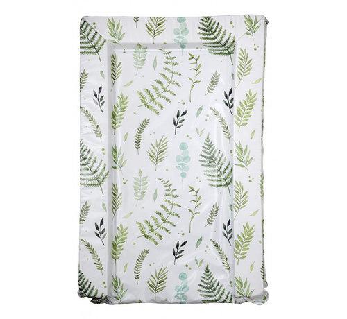 East Coast aankleedkussen bladeren wit/groen 75 cm
