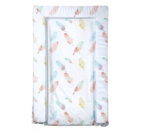 East Coast aankleedkussen veren wit/multicolor 75 cm