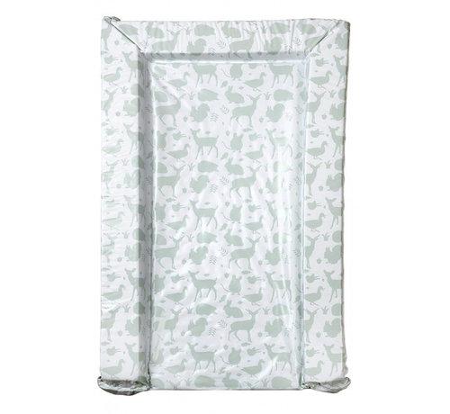 East Coast aankleedkussen dieren wit/groen 75 cm