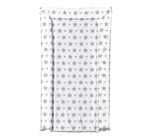 East Coast aankleedkussen sterren wit/grijs 72 cm