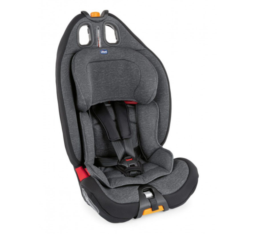 autostoel Gro-Up groep 1-2-3 polyester donkergrijs