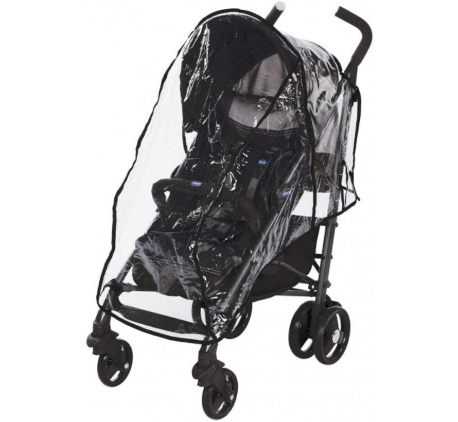 buggy Lite Way 3 aluminium 105 cm zwart 2-delig