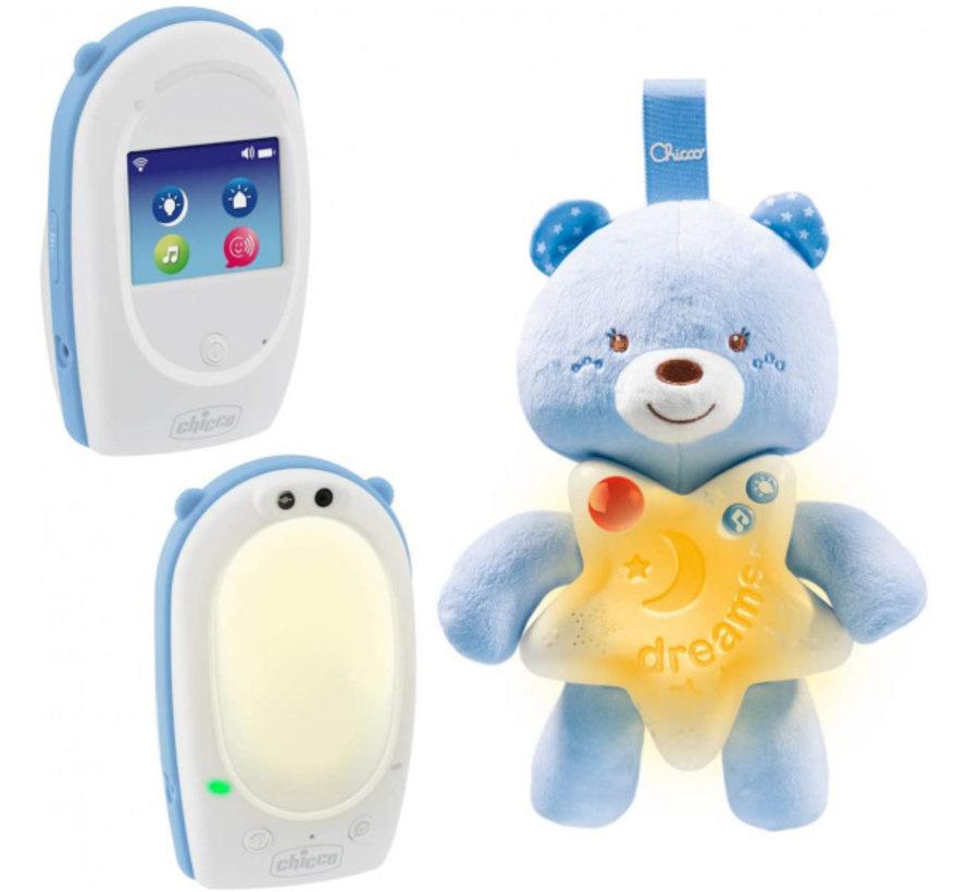 babyfoon First Dreams jongens wit/blauw 3-delig