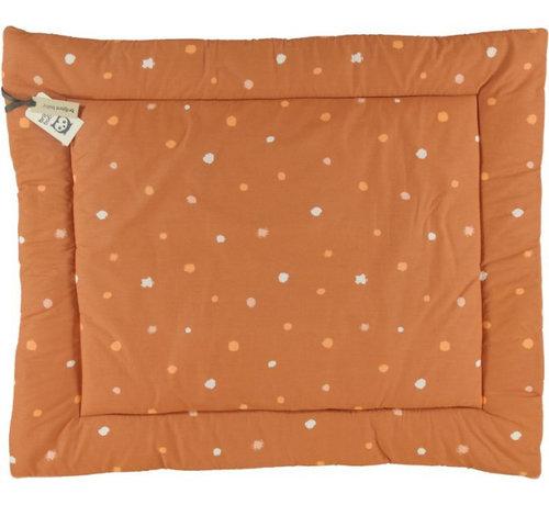 Briljant Baby boxkleed Sunny 80 x 100 cm katoen oranje