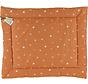 boxkleed Sunny 80 x 100 cm katoen oranje