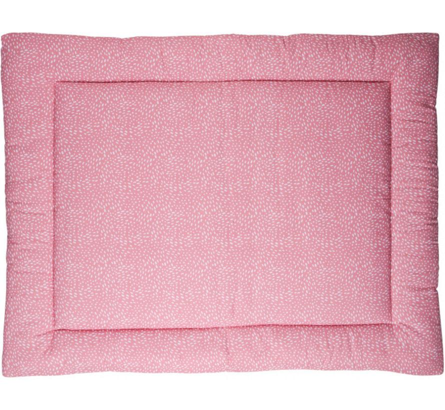 boxkleed Minimal Dots 80 x 100 cm katoen roze