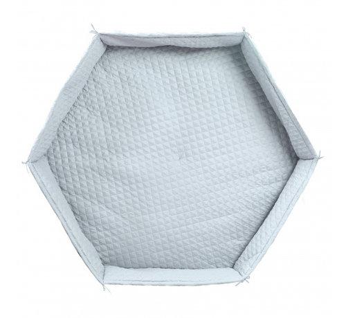 Roba boxkleed Hexagonal junior 115 cm polyester turquoise