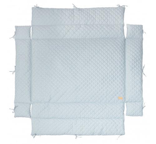 Roba boxkleed Style junior 96 x 18 cm polykatoen lichtblauw
