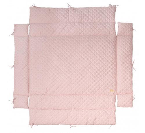 Roba boxkleed Style junior 96 x 18 cm polykatoen roze