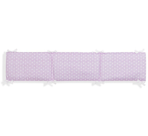 Interbaby boxkleed Ster junior 40 x 226 cm katoen roze