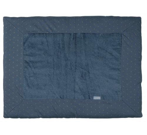 Pericles boxkleed 75 x 95 cm katoen/bamboe donkerblauw