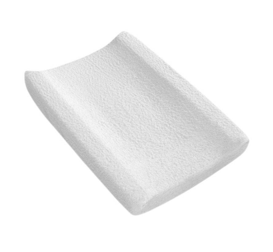 aankleedkussenhoes 55 x 80 cm katoen wit