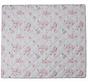 speelmat anti-slip junior 150 x 130 cm katoen wit/roze