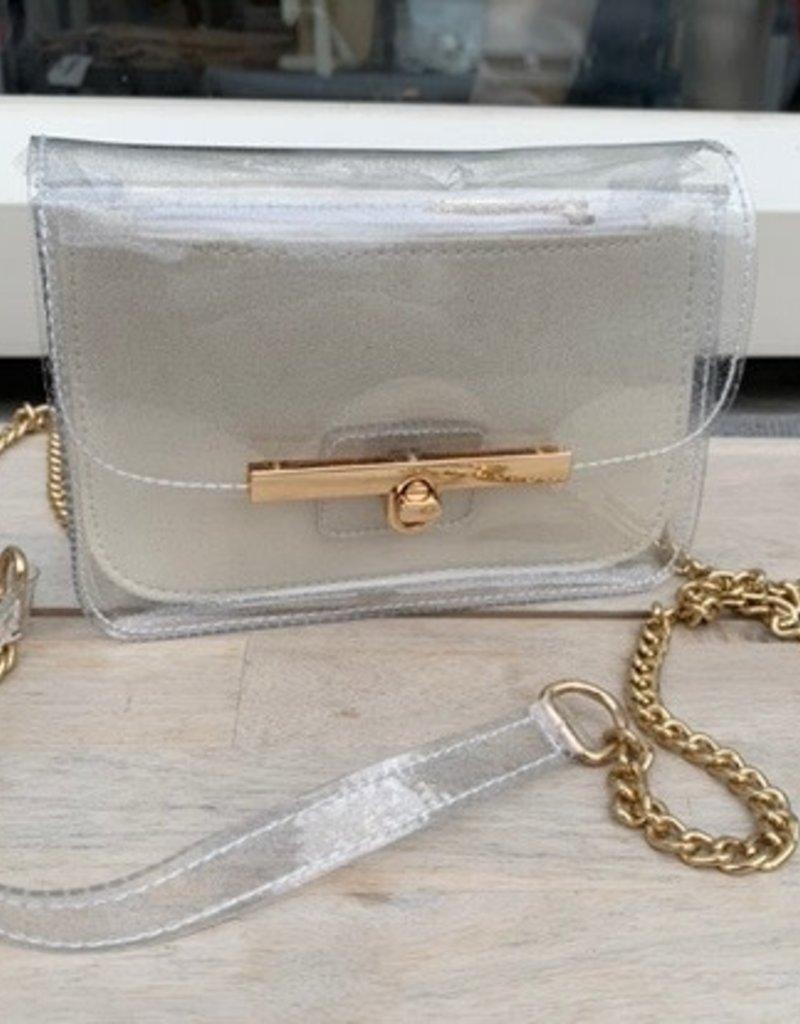 JK BAGS Doorzichtig bag in bag