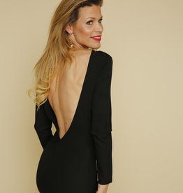 JANTJE KORTEN DRESS OPEN BACK JK347