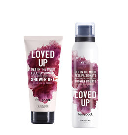 LIMITED LOVE UP SHOWER GEL + SHOWER MOUSSE