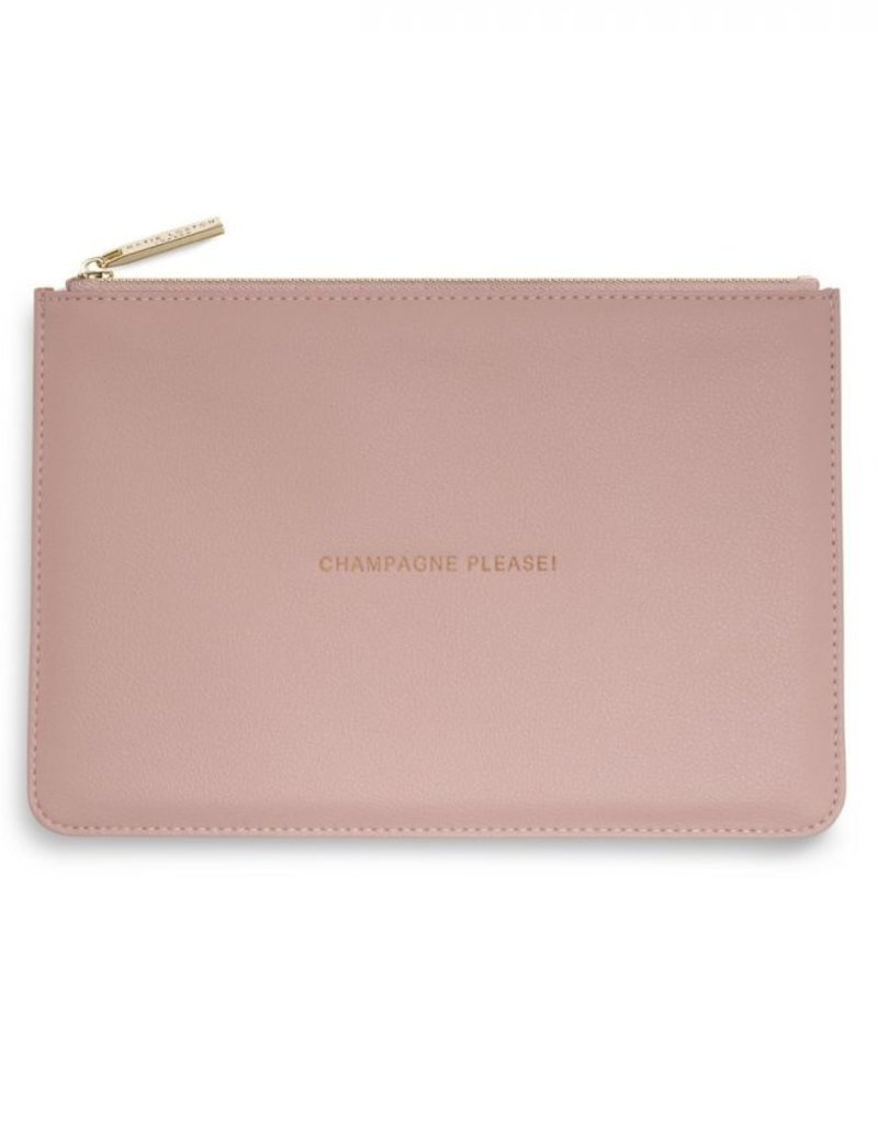 PERFECT POUCH CHAMPAGNE PLEASE KLB742