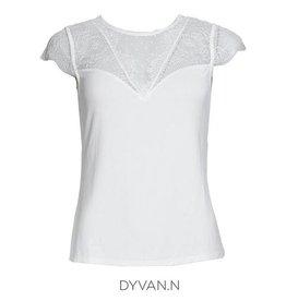 MORGAN DE TOI TOP 202-DYVAN.N OFFWHITE