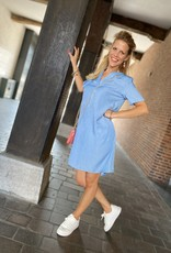 REBELZ DRESS KIKI REB-15155 BLAUW