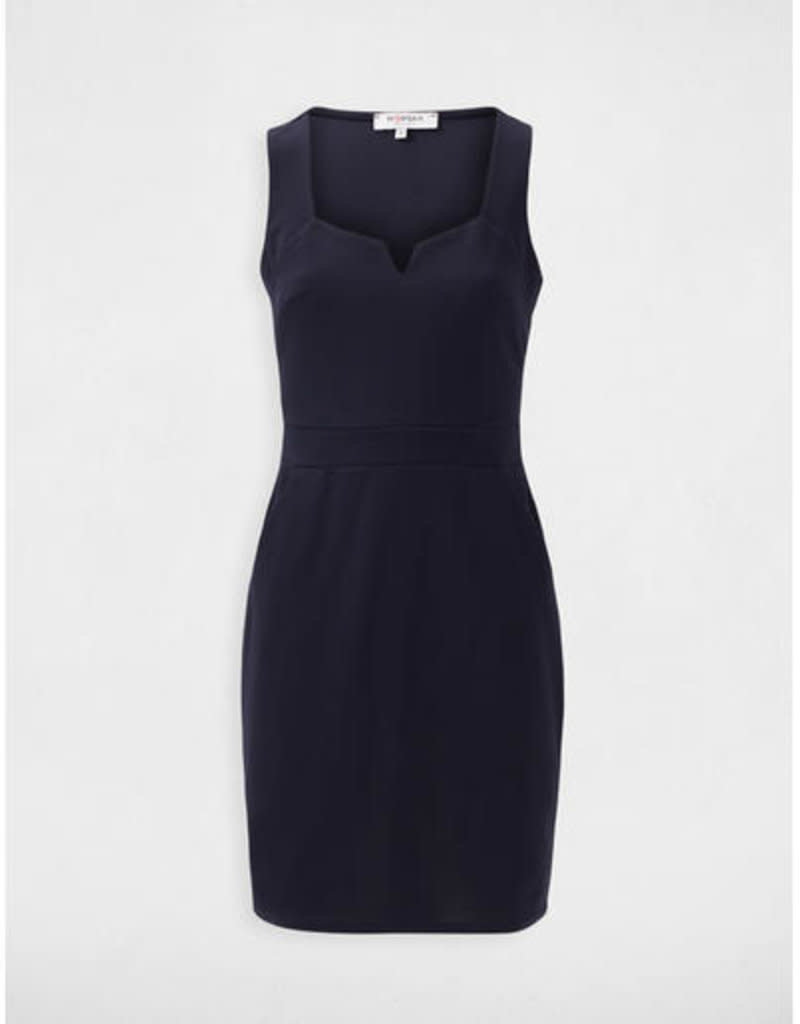 MORGAN DE TOI DRESS 202-RCHERI.P NAVY