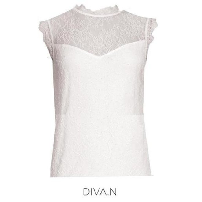 TOP 202-DIVA.N OFFWHITE