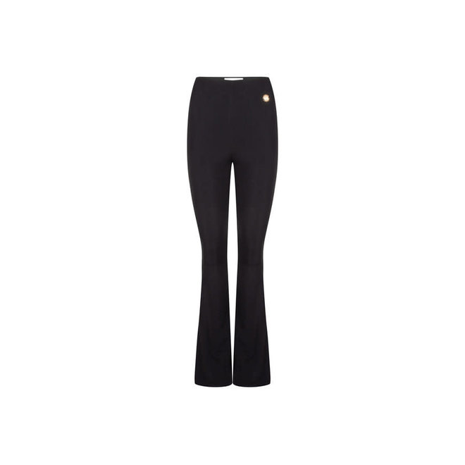 TROUSERS FLARED ELLY BLACK