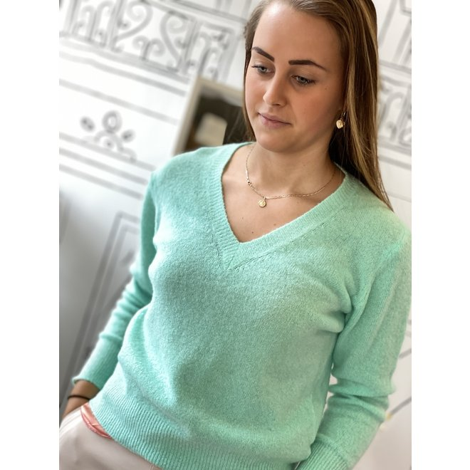 PULLOVER W20-001 MINT ONESIZE
