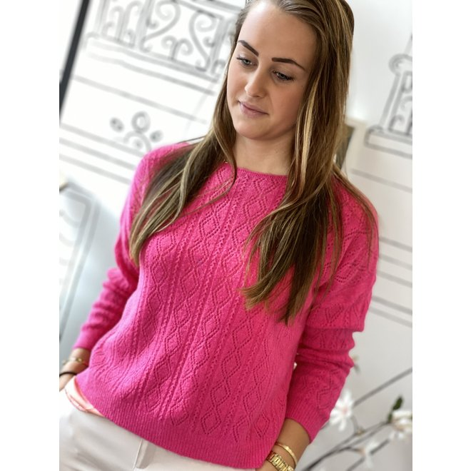 PULLOVER W20-005 PINK ONESIZE