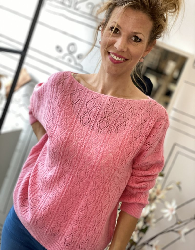JK CASUAL PULLOVER W20-005 BABY PINK ONESIZE