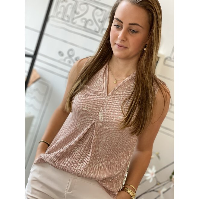 TOP PINK/GOLD ONESIZE