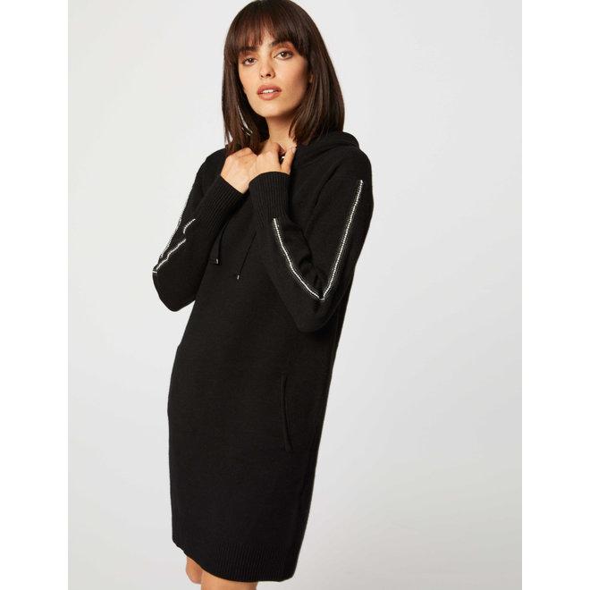 DRESS 192-RMGO.N BLACK